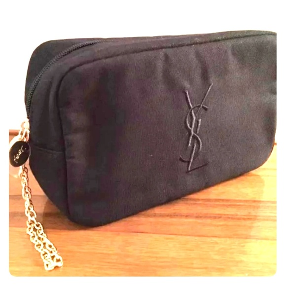 Yves Saint Laurent Handbags - YSL COSMETIC BAG BLACK